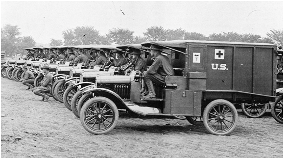 Camp Crane Ambulance Corps