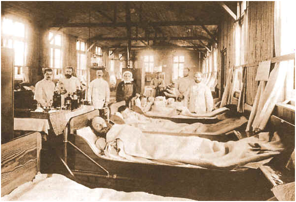 Cholera Hospital - Germany 1892