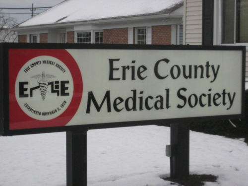 Erie County Medical Society Exterior